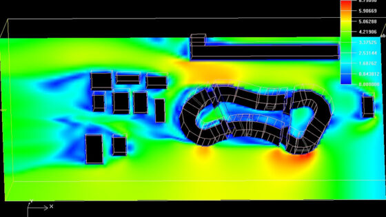 CFD for airflow analysis